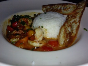 Some shrimp dish. It was delish of course.